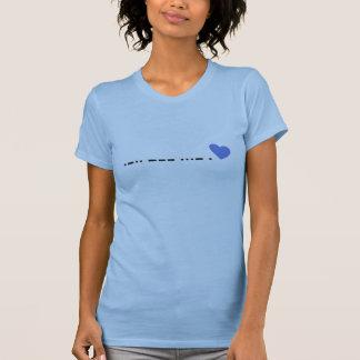 Love in Morse Code T-Shirt