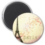 Love in Paris Fridge Magnet