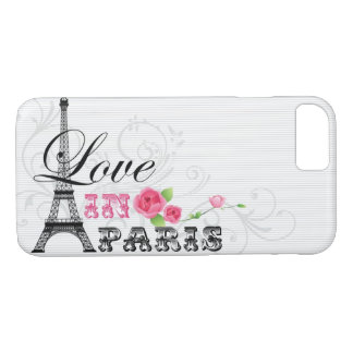 Love in Paris iPhone Case