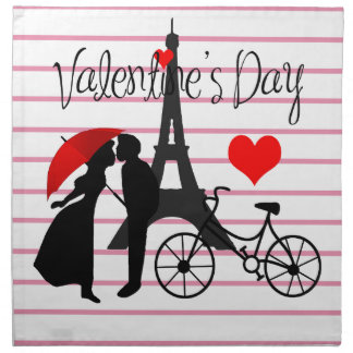 Love in Paris Napkin