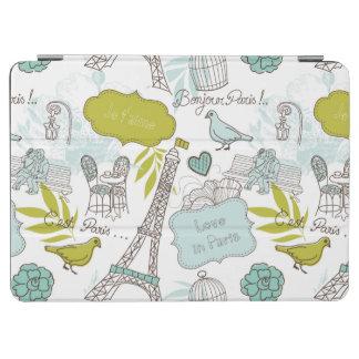 Love in Paris Pattern iPad Air Cover