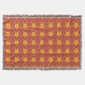 """Love in Summer"" Design by Carole Tomlinson©2016 Throw Blanket"