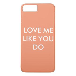 Love in the air iPhone 8 plus/7 plus case