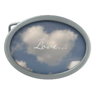Love in the Air Oval Belt Buckles