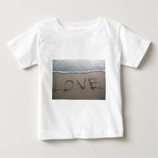 Love In The Sand Baby T-Shirt