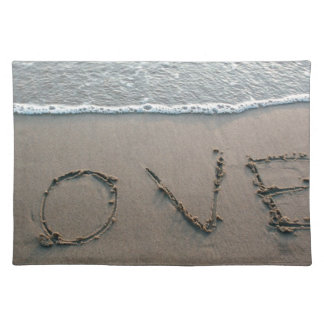 Love In The Sand Placemat