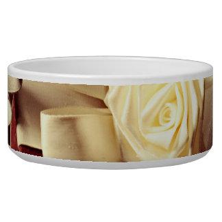 Love In Time Ceramic Pet Bowl