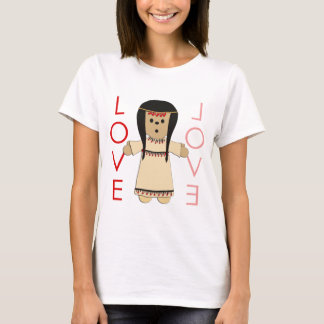 Love Indian Doll T-Shirt
