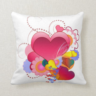 Love Infusion Throw Pillow