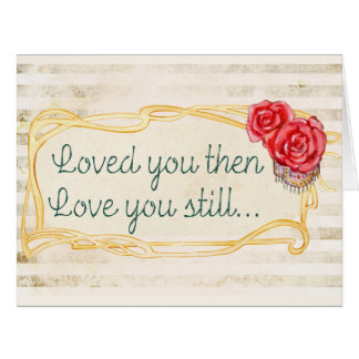 Love Inspirational Quote Card