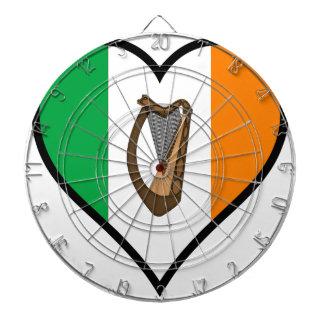 Love Ireland Dartboard With Darts