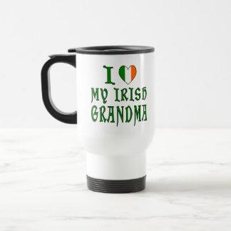 Love Irish Grandma Travel Mug