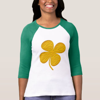 love irish pride lucky green gold shamrock t-shirt