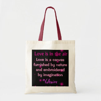 love is a canvas bag