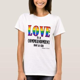Love is a Commandment Basic Tee
