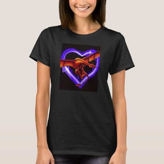 Love is a Dragon (woman's version) T-Shirt