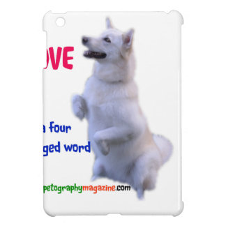 Love is a four legged word case for the iPad mini