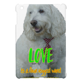 Love is a four legged word iPad mini covers