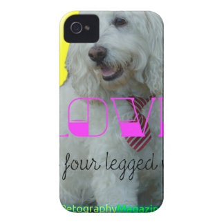 Love is a four legged word iPhone 4 Case-Mate cases