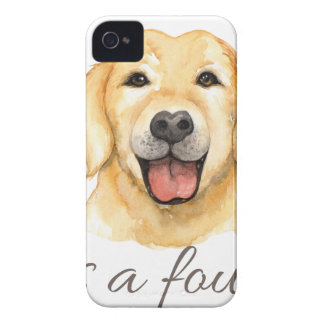 Love is a four legged word iPhone 4 cover