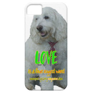 Love is a four legged word iPhone 5 cases