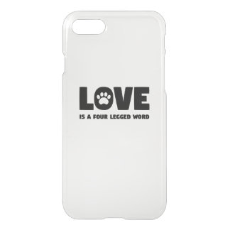 Love is a Four Legged Word iPhone 8/7 Case