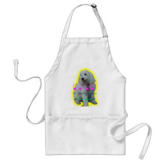 Love is a four legged word standard apron