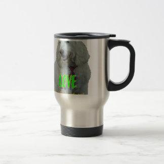 Love is a four legged word travel mug