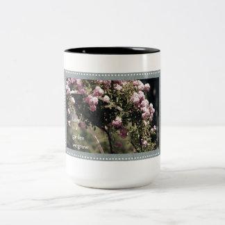 Love is a Garden We Grow Roses Two-Tone Coffee Mug