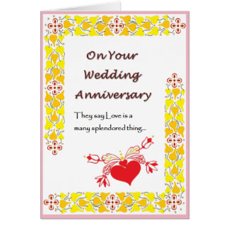 Love is a many splendored thing card