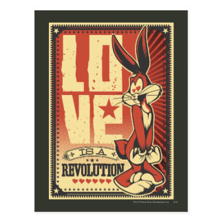 Love is a Revolution Postcard