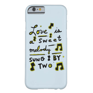 """""""Love is a Sweet Melody, Sung by Two"""" Phone Case"""