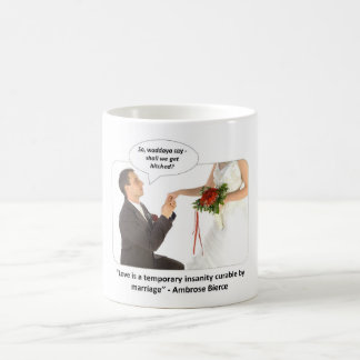 love-is-a-temporary-insanity-curable-by-01 classic white coffee mug