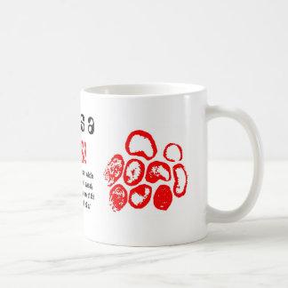 Love is a, VIRUS!, Coffee Mug