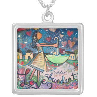 Love Is Abundant Valentine Necklace