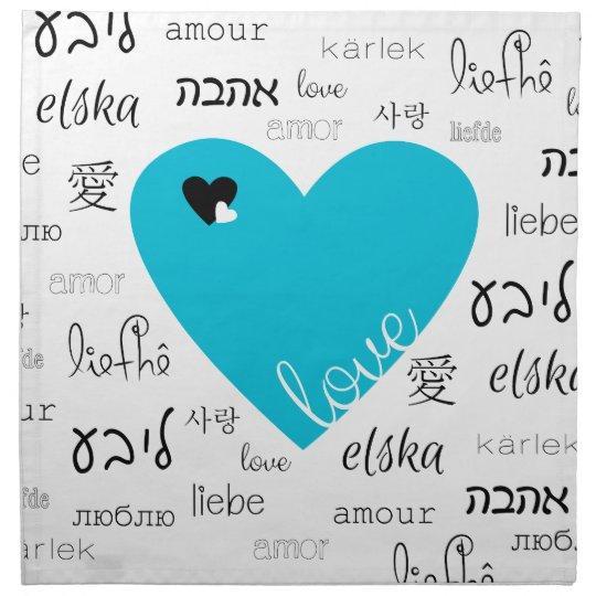 Love is All Around Cloth Napkins