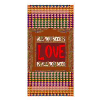 Love is all you need, ALL you need is Love Wisdom Perfect Poster
