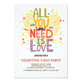 Love is All You Need Invitation