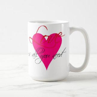 Love Is All You Need Mug