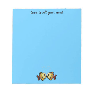 love is all you need notepad