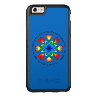Love is All You Need Pride OtterBox 6/6s Plus Case