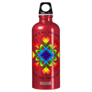 Love is All You Need Pride SIGG Water Bottle RED