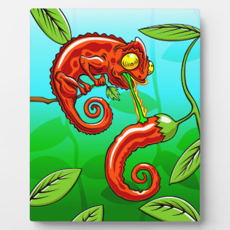 love is blind - chameleon fail plaque