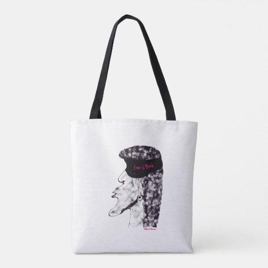 Love is Blind Designer Tote Bag
