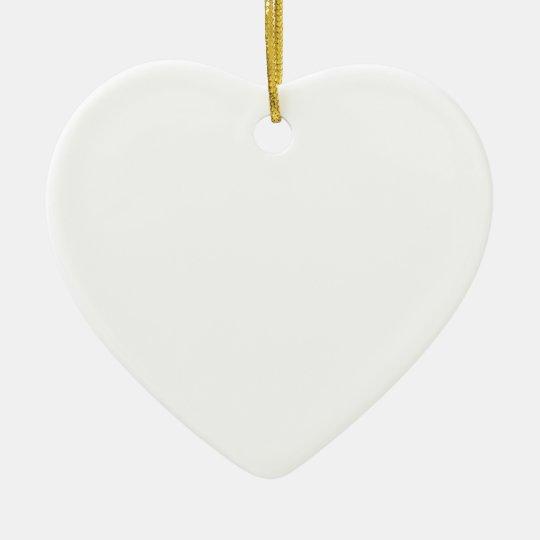Love is Blind Foundation Ceramic Ornament
