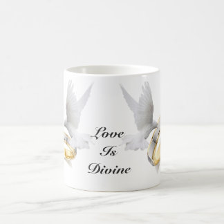 Love Is Divine Dove Mug