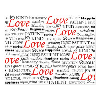 Love is Everything Postcard