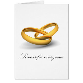 Love Is For Everyone Card