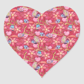 Love is for Some Valentine's Day Heart Stickers