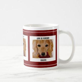 Love is Forever Golden Coffee Mug